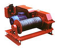 Лебедка электрическая тяговая ТЛ-9А-1 (1,25тс)